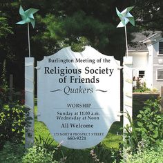 Liberal Quakers | Religious Society of Friends (Quakers) | Flickr - Photo Sharing!