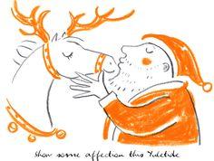Hermes ... underneath the mistletoe