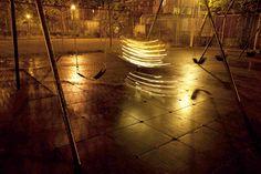 動くライトグラフィティのアート写真:Lucea Spinelli