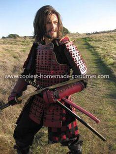 homemade samurai warrior costume - Google Search