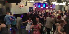 Dancing at Amy & Brian;s wedding in Raleigh NC at Solas Nightclub #bunndjco #solasnightclub #wedding