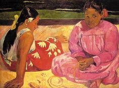 Paul Gauguin was born in Paris, France in 1848 at the time of the second French Revolution. After his father was exiled from the country, his family moved to Peru for a short time. In France Gauguin was raised in Orleans until he was seventeen, at which time he became an apprentice to a merchant marine and sailed the open sea. Around 1873 his life's interests began to change and he was thrust into the world of art. He joined  Impressionist movement, befriended Pissarro, Cezanne, Dega & Van Gogh