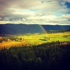 Rainbow as seen from Sparkling Hill Resort Somewhere Over, Over The Rainbow, Mountains, Live, Photos, Travel, Instagram, Pictures, Viajes