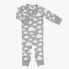 Bodysuit van Färg & Form/ Moln Cloud Grey