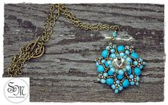 Sviro Műhely: Mijo medál Turquoise Necklace, Charmed, Bracelets, Jewelry, Jewlery, Jewerly, Schmuck, Jewels, Jewelery