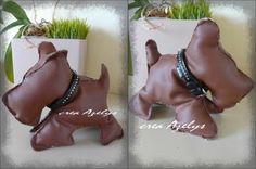 Un chien bien sage tres british - Pattern free Couture Sewing, Free Pattern, Dinosaur Stuffed Animal, Toys, Blog, Animals, Plushies, World Animals, Boss