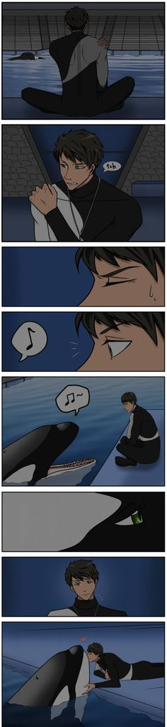 No Mackerel (this is how they found out Haru was pregnant ...
