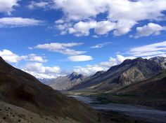 The Spiti Valley is a desert mountain valley located high in the Himalaya Mountains in the north-eastern part of the Indian state of Himachal Pradesh.