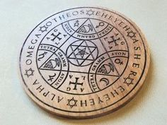 Magic Board or Magnet for home protection Enochian Angel Magic amulet, Alpha and Omega, AGLA, Tetragrammaton, Natural wood - Beech Protection Symbols, Home Protection, Magic Symbols, Ancient Symbols, Triquetra, Monte Fuji, Teak Oil, Book Of Shadows, Wiccan