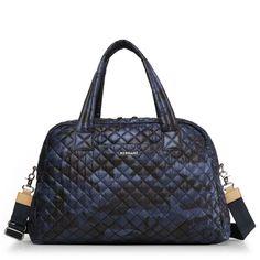 Mz Wallace Jimmy Weekender In Black Oxford Black Oxfords, Blue Camo, Nylon Bag, Online Bags, Real Leather, Leather Bags, Leather Purses, Leather Crossbody, Satchel