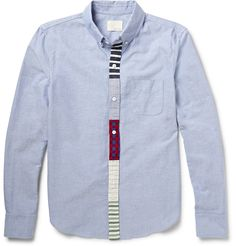 Band of Outsiders - Button-Down Collar Cotton Oxford Shirt MR PORTER