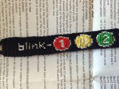 Blink 182 friendship bracelet pattern number 3532 - For more patterns and tutorials visit our web or the app!