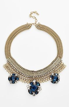 Crystal Statement Necklace, on sale!