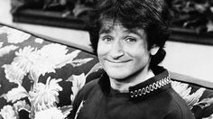 This 1978 file photo originally released by ABC shows actor Robin Williams on the set of ABCs