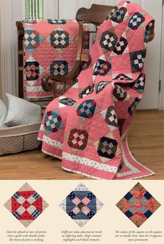 Code: ISBN: 9781604687095 Author: Julie Hendricksen Antique quilts have a romance about them that captivates quilters and collectors. If you love antique quilts and Pink Quilts, Old Quilts, Amish Quilts, Antique Quilts, Vintage Quilts, Hand Quilting Designs, Civil War Quilts, Quilting Board, Green Quilt