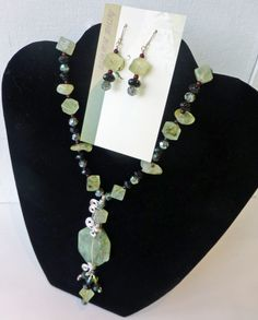 Connie Beck, Natural stone and wire-wrapped jewelry, $35 - 210