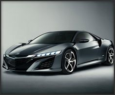 2013 Acura NSX Concept. Perhaps we'll see this in Iron Man 3?