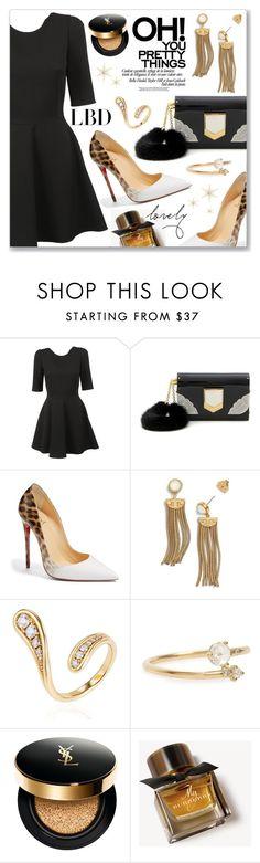 """Little Black Dress"" by dressedbyrose ❤ liked on Polyvore featuring Dolce&Gabbana, Jimmy Choo, Christian Louboutin, Tory Burch, Fernando Jorge, WWAKE, Yves Saint Laurent, Burberry, LittleBlackDress and LBD"