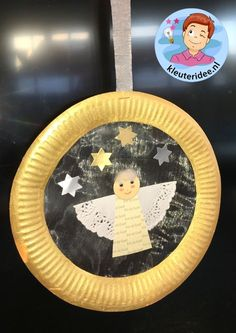 The post Hanger met engel op organzastof 3 kleuteridee. appeared first on Knutselen ideeën. Preschool Christmas Crafts, Christmas Crafts For Kids To Make, Nativity Crafts, Christmas Nativity, Christmas Activities, Xmas Crafts, Christmas Angels, Kids Christmas, Christian Christmas Crafts