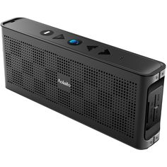 Portable Speaker, Aolaifo Wireless Speakers with Enhanced Base Dual 10W Driver IPX5 Water Resistant Aluminum Alloy Portable Bluetooth Speaker with 10 hr Playtime, Black