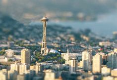 Fantastic use of tilt shift    Ohhhh caaaanadaaaaaa