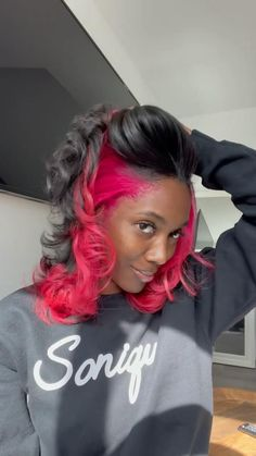 Black Girl Hair Colors, Pretty Hair Color, Hair Dye Colors, Hair Color For Black Hair, Pressed Natural Hair, Dyed Natural Hair, Colored Natural Hair, Colored Hair, Curly Hair Styles
