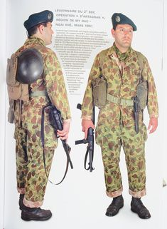 Legionnaire REP Indochina uniform, pin by Paolo Marzioli