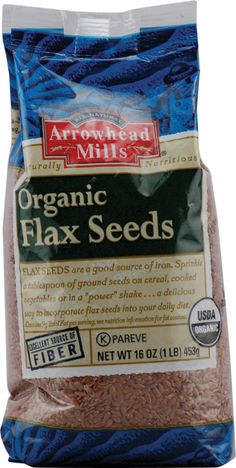 Arrowhead Mills Organic Flax Seeds #setandsave  Did you know you can make hair gel from flaxseed and boiled water? Check out most used recipes.