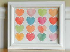 Grow Creative: Painting Hearts