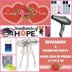 Love Your Hair Giveaway – Over $300 in Prizes Ends 2/15