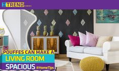 Make your home look spacious with these #trendy #hometips. Visit www.itrendhomes.com  to book your convertible 1 to 2 BHK home in Hinjawadi today.