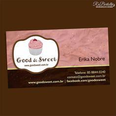 Good & Sweet  Cartão de visita