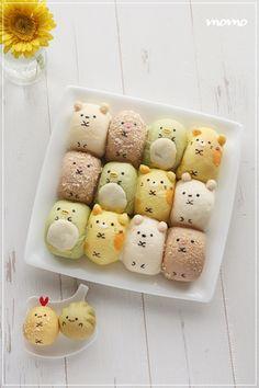 すみっこぐらしちぎりパン♡