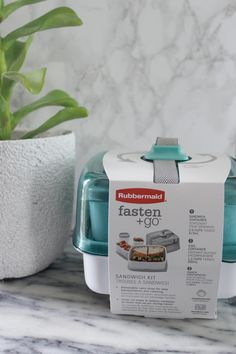 Take those delicious vegetarian and vegan sandwiches out and about with you thanks to the NEW @rubbermaid fasten + go kits which are available at @target starting 12/27/15.  #FastenNGo #PMedia #ad