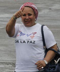 Piedad Córdoba rumbo a la liberación de los secuestrados. Foto: Héctor Fabio Zamora / EL TIEMPO