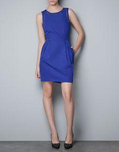 TULIP DRESS - Dresses - TRF - ZARA United States $59