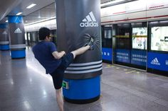 ADIDAS uses Special Build in Shanghai