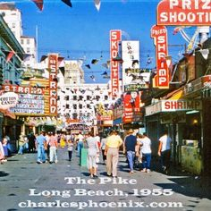 The Pike 1955 Long Beach ,CA... wow how things have changed...