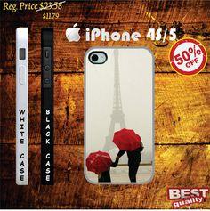 paris eiffel in the rain iphone 4s case and iphone 5 case, paris eiffel in the rain - iphone 4 case, iphone 4s case, iphone 5 case