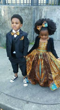 So dang adorable. He's too cool for school and she's a queen in the making.
