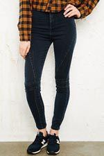 BDG Seamed High-Waisted Skinny Jeans at Urban Outfitters