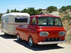 1978 Fiber Stream  [1962 Ford   Econoline   Pick Up]  Larrie & Lynn Follstad  Yucca Valley, California