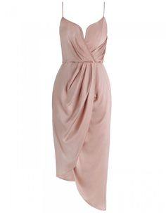 Zimmermann Sueded Silk Plunge Short Dress. Product Image.