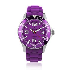 #ColoriWatch - Cool steel - Colori watches are beautifully designed and inspired by seasonal colours and fashion trends. Comfortable silicone straps combined with high precision Japanese quartz movement guarantee an uncomplicated pleasure.