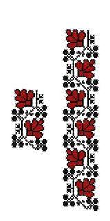 FL332 | www.binecusut.ro | Flickr Cross Stitch Designs, Cross Stitch Patterns, Cross Stitching, Hand Embroidery, Toyota, Beads, Sewing, Floral, Handmade