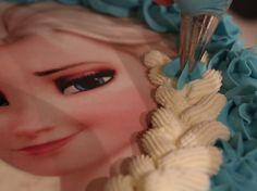 Tortenaufleger Eiskönigin Elsa