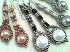 Deco Ear Rings by Sharon A. Kyser