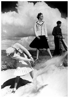 Golfing at Le Touquet - 1939 - Photo by Norman Parkinson