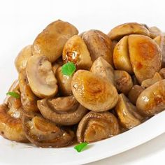 Athéni gomba - Mindmegette.hu Gnocchi, Pretzel Bites, Garlic, Bread, Vegetables, Cooking, Food, Meal, Kochen