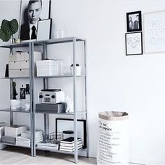 Stål reoler fra IKEA?